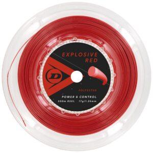 Dunlop Explosive red 125
